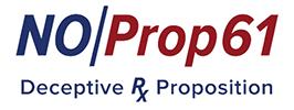 No Prop 61 Logo